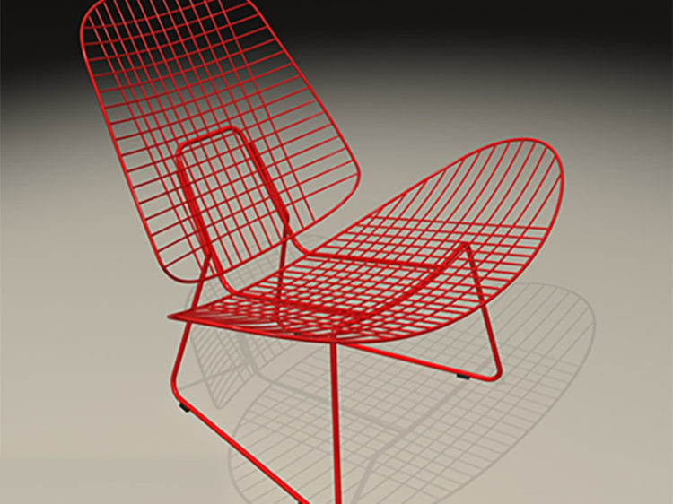 Wire Shell Chair